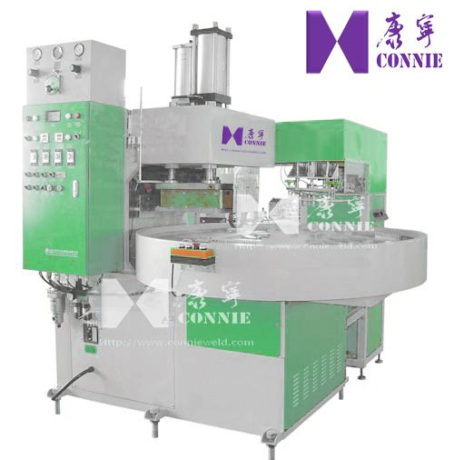 CN-15KW-4AC  Auto High frequency Turntable blister packing machine