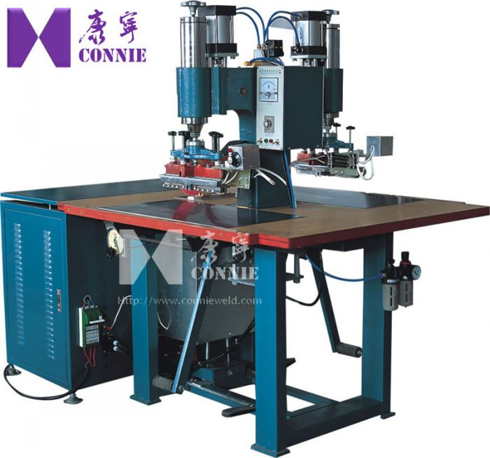 CN-5000TA High frequency double heads  air nozzle welding machine