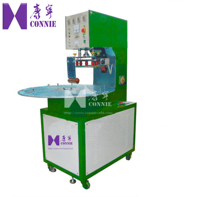 CN-5000E High frequency manual  turn table welding machine