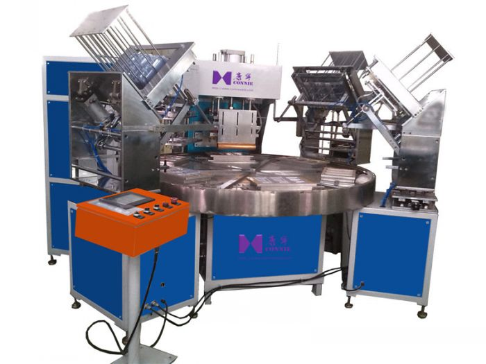 CN-15KW-6AC High frequency turn table blister packing machine