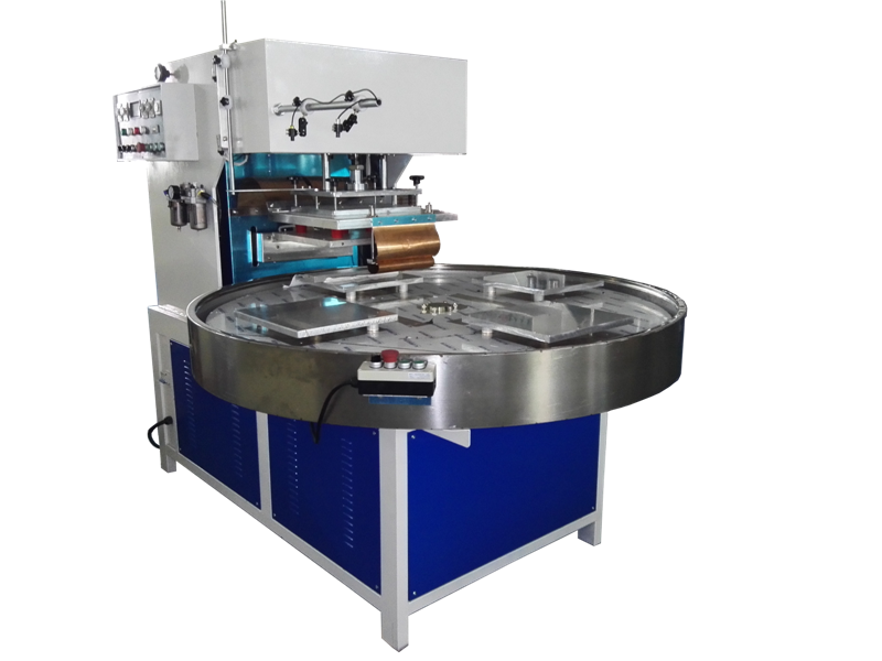CN-10KW-4AC H.F rotated table blister packing machine