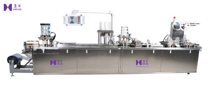 Full Automatic card blister packing machine