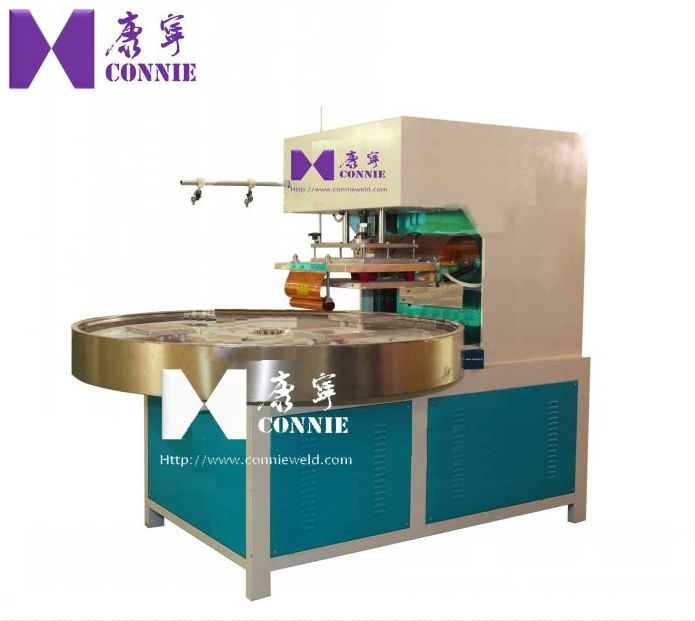 High frequency toothbrush blister packing machine