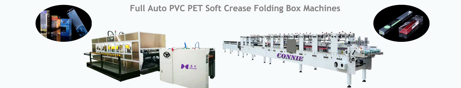 soft crease folding box machine