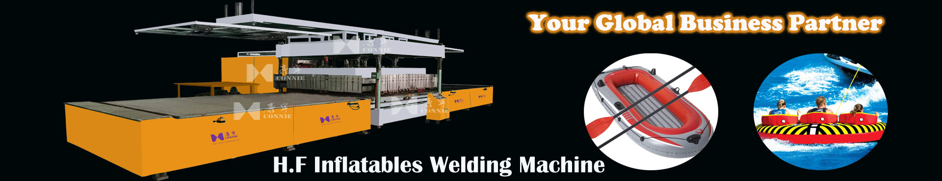inflatable welding mahcine