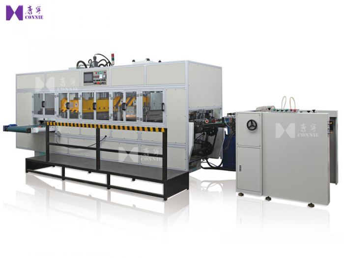 Automatic high frequency plastic box making machine